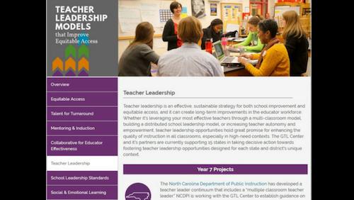 Teacher Leadership Models