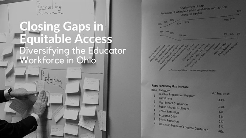 Closing Gaps in Equitable Access : Diversifying the Educator Workforce in Ohio