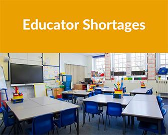 Educator Shortages