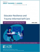 Educator Resilience and Trauma-Informed Self-Care: Self-Assessment and Planning Tool