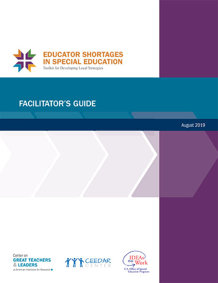 Educatior Shortages User Guide