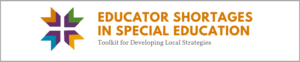 Educator Shortages in Special Education Banner