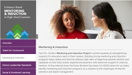 Evidence-Based Mentoring & Induction for High-Need Contexts