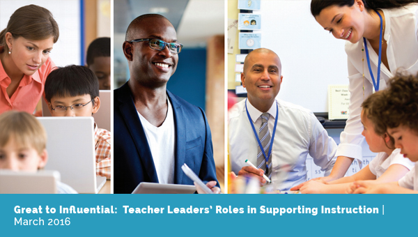 Teacher Leaders' Roles in Supporting Instruction