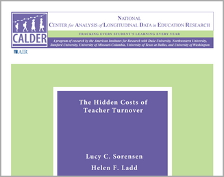 The Hidden Costs of Teacher Turnover