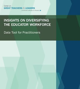 Insights on Diversifying the Educator Workforce: A Data Tool for Practitioners Data Tool Guidebook