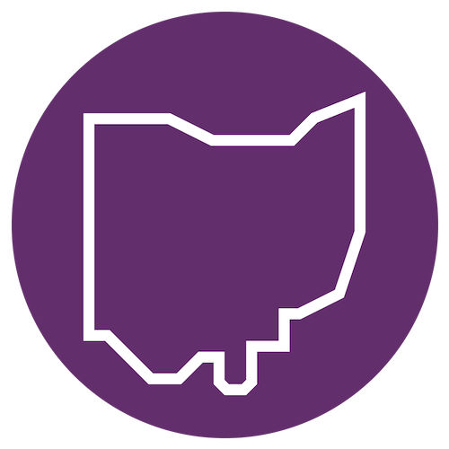 Ohio map icon