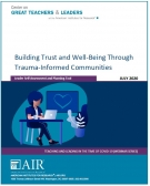 Building Trust and Well-Being Through Trauma-Informed Communities: Leader Self-Assessment and Planning Tool
