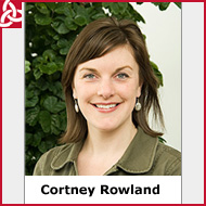 Photo of Cortney Rowland.