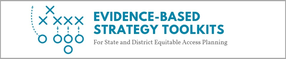 Evidence-based Strategy Toolkits Banner