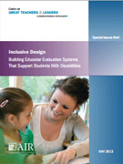 Inclusive Design: Building Evaluation Systems that Support Students With Disabilities