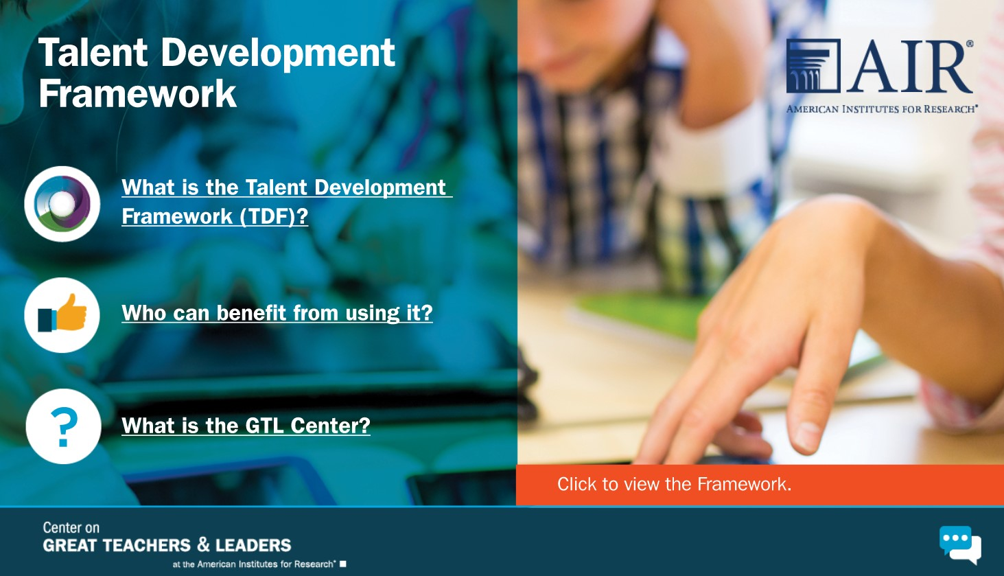 Talent Development Framework