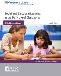 Social and Emotional Learning in the Daily Life of Classrooms