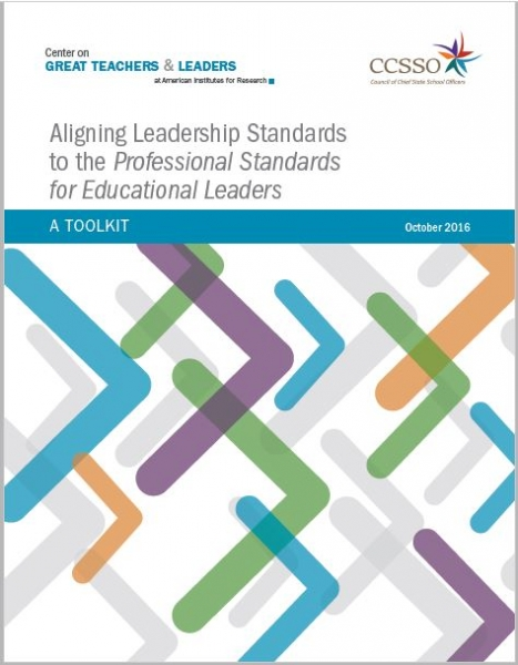 Aligning Leadership Standards to the Professional Standards for Educational Leaders:  A Toolkit and Crosswalk