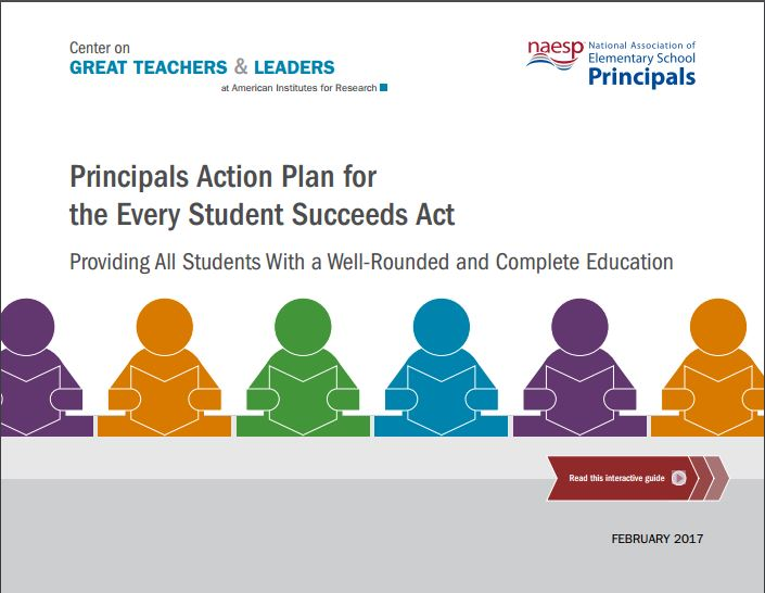Principal Action Plan for ESSA
