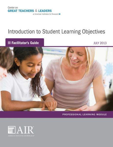 Introduction to Student Learning Objectives