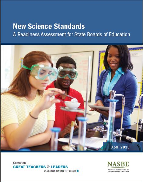 New Science Standards: A Readiness Assessment for State Boards of Education