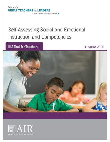 Self-Assesing Social and Emotional Instruction & Competencies