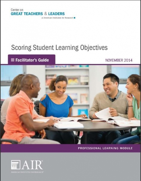 Scoring Student Learning Objectives